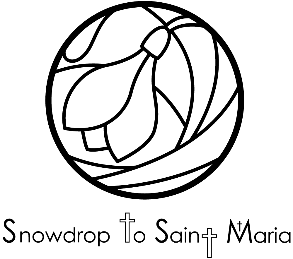 Snowdrop to Saint Maria